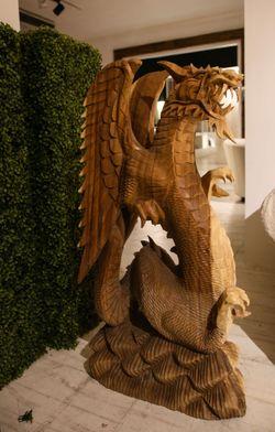 Ebony Dragon with Wings