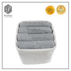 Primeo Towel Gift 4pc Set Hand Towel (Water Proof Basket)