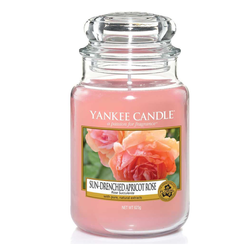 Yankee Candle CLASSIC JAR LARGE SUN DRENCHED APRICOT