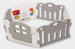 Haenim 6 Panel Petite Baby Room Playpen
