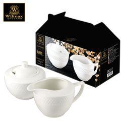 Wilmax England Julia Sugar Bowl 11 oz and Creamer 9oz (Colour Box)