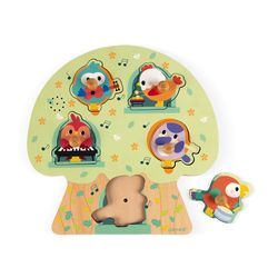Janod Musical Puzzle - Birdy Party