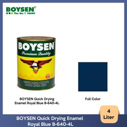 BOYSEN Quick Drying Enamel Royal Blue B-640-4L