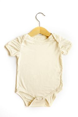 Ultra Cute Baby Bamboo Onesie (6-12 months) - Biscuit