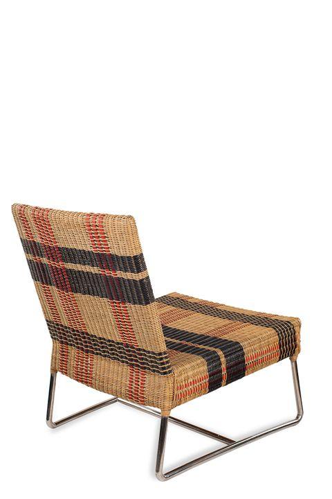 Calfurn Bordeaux Slipper Chair