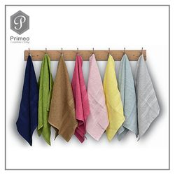 PRIMEO MY BASICS Hand Towel Premium Ring Spun Carded 100% Cotton 500 gsm 16 x 26 inch Soft High Absorbent