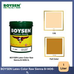 BOYSEN Latex Color Raw Sienna B-1406-1L