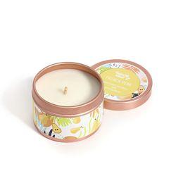 Happy Island French Pear Soy Candle 2oz