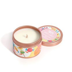Happy Island Sweet Candy Soy Candle 2oz