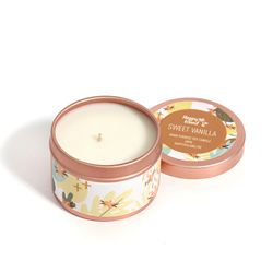 Happy Island Sweet Vanilla Soy Candle 2oz