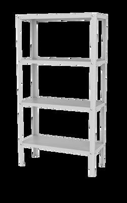Heavy Duty 4 Shelf Storage Rack - Large