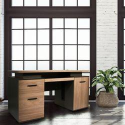 Josh Standard Desk with Double Cabinet