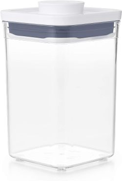 Tickled Babies Oxo Pop Container  Small Square  Short 1.1 Qt