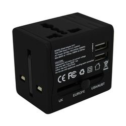 Trend Logic Travel Plug Adapter with Dual USB