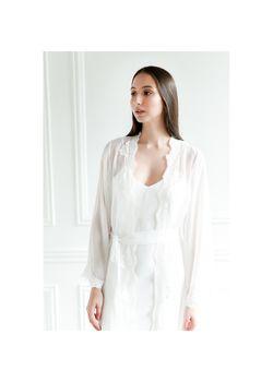 Intissimo Isabella Sheer Bridal Robe