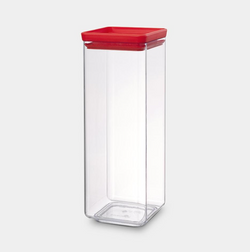 Brabantia Square Canister - 2.5L - Tasty Colours