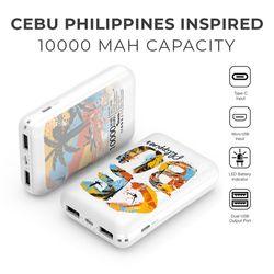Island Handsketch Cebu 10,000 MAH Fast Charge Powerbank With Type-C Port
