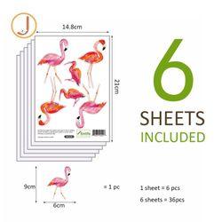 Flamingo Wall Decals Nursery Stickers