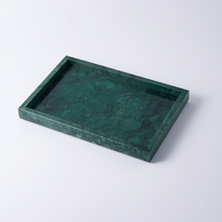 Rectangular Marble Vanity Tray