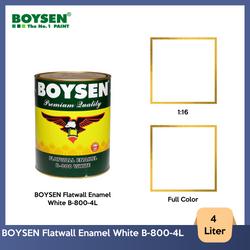 BOYSEN Flatwall Enamel White B-800-4L