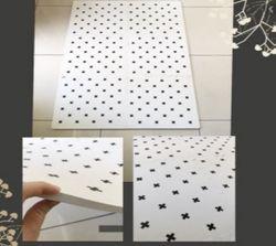 Haenim XL Geo Mat (White)
