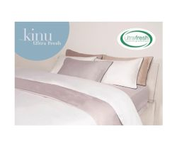 Kinu Bed and Bath Ultra Fresh Duvet 4 Piece Set SuperKing