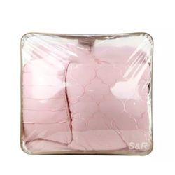 Pure Dwellings Pink Beddings King Size 1 Set