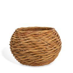 Calfurn Wicker Round Basket