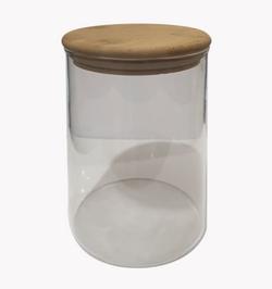 Lakbawayan Bamboo Glass Jar