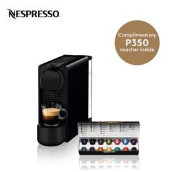 Nespresso® Essenza Plus Black C45 with Complimentary Welcome Coffee Set