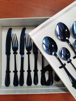 Bisda Blue Cutlery
