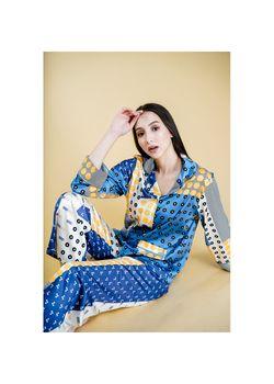 Intissimo Lucy Silk Long Pyjama