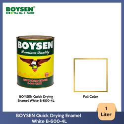 BOYSEN Quick Drying Enamel White B-600-4L