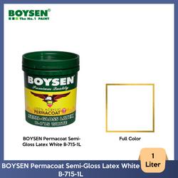 BOYSEN Permacoat Semi-Gloss Latex White B-715-1L