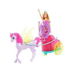 Barbie Dreamtopia Fantasy Princess with Horse Chariot