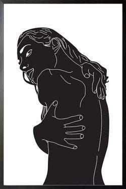 """SELF HUG POSTER 11x15"""""""