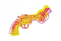 """NON VIOLENCE GUN MORE EFFECT POSTER 19x27"""""""