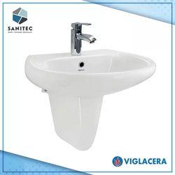 Viglacera Wall Hung Basin W/ Pedestal
