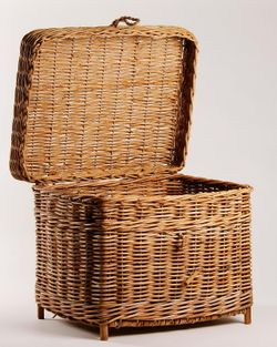 Aurog Home Storage Basket with Lid (Large)