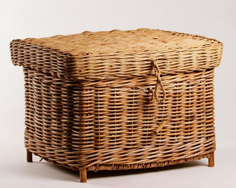 Aurog Home Storage Basket with Lid (Large)