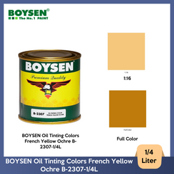 BOYSEN Oil Tinting Colors French Yellow Ochre B-2307-1/4L