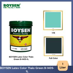 BOYSEN Latex Color Thalo Green B-1405-1L