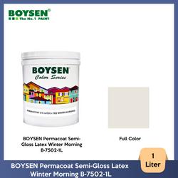 BOYSEN Permacoat Semi-Gloss Latex Winter Morning B-7502-1L