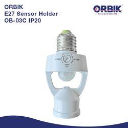 OB-03C IP20 E27 Sensor Holder