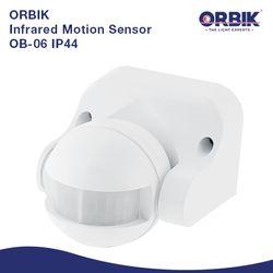 Orbik OB-06 IP44 Infrared Motion Sensor