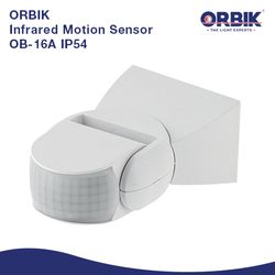 Orbik OB-16A IP54 Infrared Motion Sensor