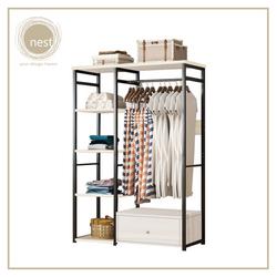 Nest Design Lab Garment Racks with Drawer B
