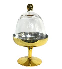 GOLD CUPCAKE PEDESTAL