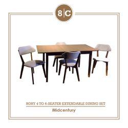 8C RORY 4-6S DINING SET