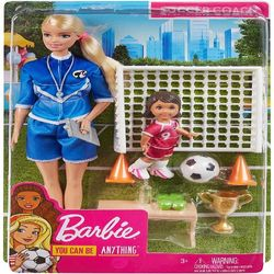 Barbie Career Soccer Coach Playset